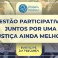 Aberta consulta pública para formulação das metas da Justiça para 2022