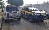 PRF prende duas pessoas e recupera veículo roubado em rodovias de AL