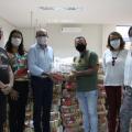 Sindicado de músicos recebe 50 cestas básicas doadas pelo Sesc Alagoas