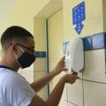 Escolas estaduais fazem simulado para retorno seguro às aulas presenciais