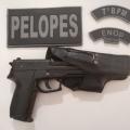 Dupla é presa ao portar simulacro de arma de fogo em Santana do Ipanema