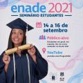 Enade 2021: Ufal promove seminário para orientar sobre as provas