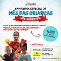 Apala inicia campanha de doações para Dia das Crianças