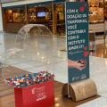 Shopping recolhe elásticos de máscaras e amplia arrecadação de recicláveis