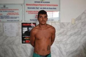Rubens Soares da Silva foi preso no mesmo ano do crime (Foto: Alagoas na Net / Arquivo)