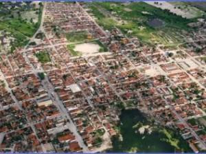 Vista de cima da cidade de Ouro Branco (Foto: Divulgação)