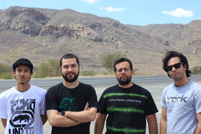 Banda Eek faz parte do cast da Cafeína Rec (Foto: Luis Paulo / Divulgação)