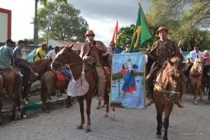 Cavalgada dos Vaqueiros marca inicio dos festejos (Foto: Alagoas na Net / Arquivo)