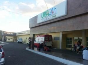 Placa da unidade já esteve exposta no Hospital (Foto: Portal Maltanet)