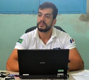 Delegado João Marcelo é encarregado do inquérito (Foto: Ebert Matheus / Alagoas na Net)