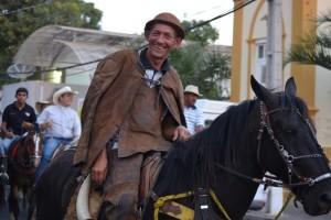 Alguns vaqueiros se vestiram a caráter (Foto: Lucas Malta / Alagoas na Net)
