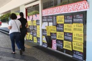 A greve dos bancários completa 30 dias (Foto: Elza Fiúza/Agência Brasil