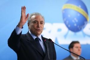 Temer disse que a oposição no Brasil tem uma concepção política (Foto: Antonio Cruz/ Agência Brasil
