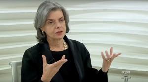 Ministra homologou 77 delações da Lava Jato (Foto: Reprodução / TV Cultura)