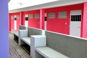Nova UIF contará com 34 vagas para adolescentes, uma quadra de vôlei de areia, um playground e quatro salas de aula (Foto: Neno Canuto / Agência Alagoas)