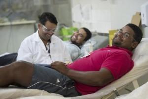 De acordo com o Ministério da Saúde, no ano passado cerca de 1 milhão de pessoas doaram sangue pela primeira vez (Foto: Marcelo Camargo/Agência Brasil)