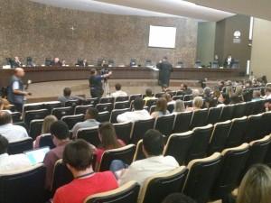 Julgamento dos réus na Operação Taturana (Foto: Paulo Chancey Júnior / Arquivo)