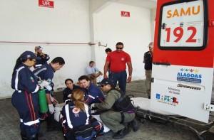 Acidentes de trânsito podem envolver um atendimento complexo (Foto: Olival Santos / Agência Alagoas)