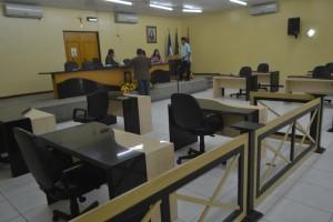 Plenário esteve praticamente vazio (Foto: Lucas Malta / Alagoas na Net)