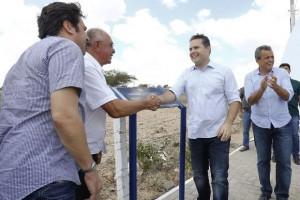 Renan Filho esteve ao lado do prefeito Gildo Rodrigues (Foto: Agência Alagoas)