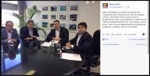 Garantia foi divulgada através das redes sociais (Foto: Reprodução)