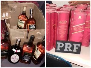 Bebidas foram apreendidas em um dos flagrantes de fim de ano (Foto: Assessoria PRF-AL)