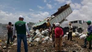 O primeiro lixão a ser interditado em 2016 foi o do município de Ouro Branco, durante ações da Fiscalização Preventiva Integrada (FPI) (Foto: Ascom IMA)