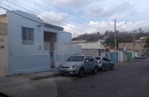 Novo prédio da DRP fica na Rua Nossa Senhora de Fátima (Foto: Lucas Malta / Alagoas na Net)