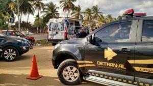 Meta é repetir o feito de 2015, quando não houve registros de morte nas estradas (Foto: Lays Peixoto / Agência Alagoas)