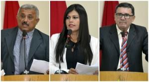 Meirica, Fofa e Vaz foram protagonistas da 1ª sessão (Fotos: Lucas Malta / Alagoas na Net)