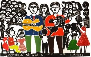 Repentistas terão apresentação em Santana (Ilustração: J Borges / Reprodução)