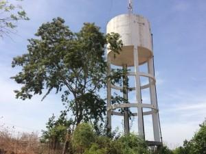 Em Santana, reservatório será substituído por um com capacidade maior (Foto: Assessoria)