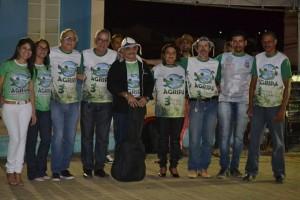 Guardiões celebraram a data no dia 21 (Foto: Lucas Malta / Alagoas na Net)
