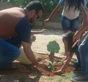 Ambientalistas aproximaram estudantes do meio ambiente (Fotos: Agripa / Cortesia)
