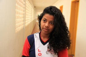Aluna Samara Maria da Silva afirma ter sido vítima de racismo (Fotos: Valdir Rocha / Agência Alagoas)