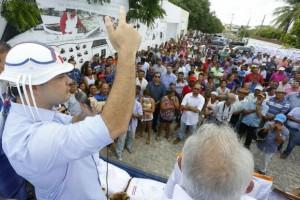 Governador passou por Delmiro Gouveia nesta segunda (Foto: Márcio Ferreira / Agência Alagoas)