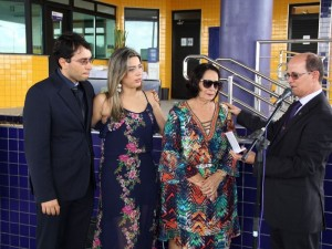 Familiares do PRF Gonzaga estiveram na inauguração (Foto: Assessoria PRF-AL)