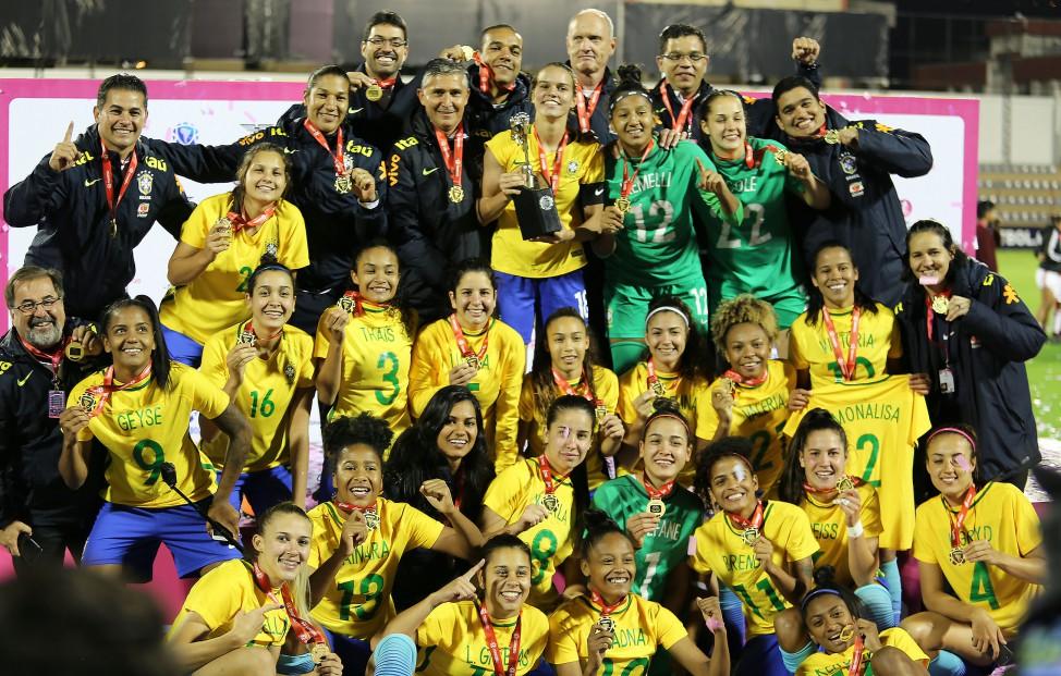 Seleção feminina sub 20 é campeã do Sul- Americano – Alagoas na Net 40a31608b9a58